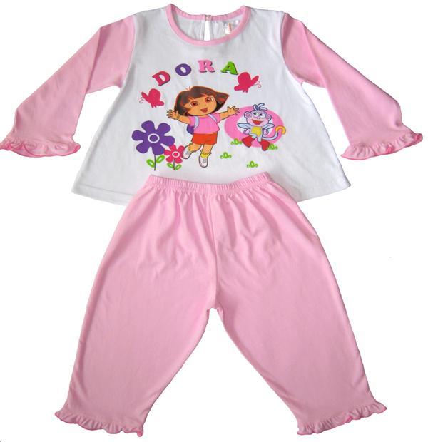 2x Pyjama dora meisjes (kleuter)