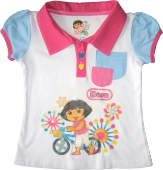 Dora The Explorer - Girl T Shirt - TS1107-W