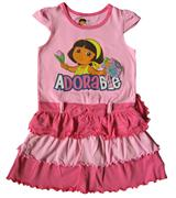 Dora The Explorer - Girl Dress - DR1134