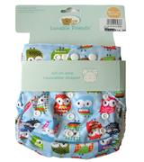 Luvable Friends - Reusable Diaper - JD-DP3936-B