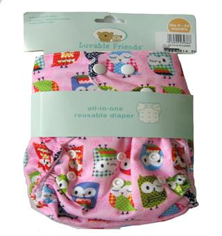Luvable Friends - Reusable Diaper - JD-DP3936-I