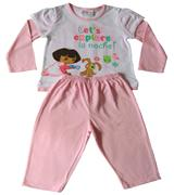 Dora The Explorer - Girl Pyjamas - PJ405