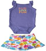 Carter's - Baby Girl Romper Set  - CT35623-P