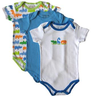 Luvable Friends - 3 Baby Rompers pack - JD-RP30640
