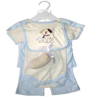 Hubson Baby - Baby Gift Collectioln 6 Pieces - JD-RP58040