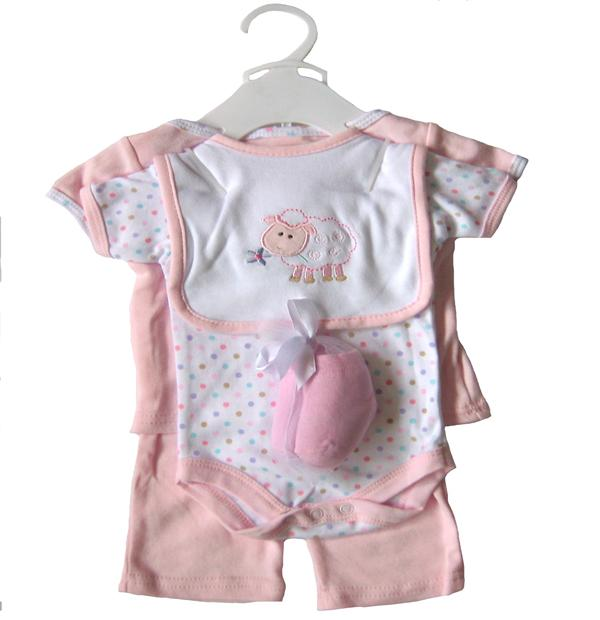 547cc4e93 Hubson Baby - Baby Gift Collectioln 6 Pieces - JD-RP58045 - Baby Rompers