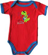 Luvable Friends - Baby Romper - JD-RP60400-R