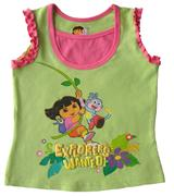 Dora The Explorer - Girl Tank Top - SS1100-G