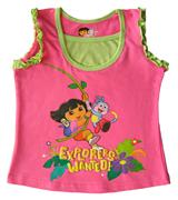 Dora The Explorer - Girl Tank Top - SS1100-P