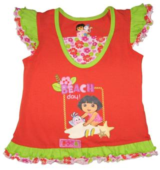 Dora The Explorer - Girl Tank Top - SS1137-O