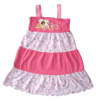 Dora The Explorer - Girl Dress - TS1055