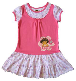 Dora The Explorer - Girl Dress - DR1056
