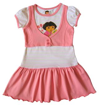 Dora The Explorer - Girl Dress - DR1073