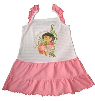 Dora The Explorer - Girl Dress - DR1074-W