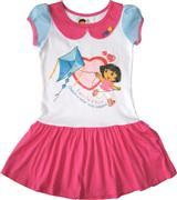 Dora The Explorer - Girl Dress - DR1110-W