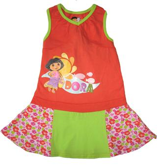 Dora The Explorer - Girl Dress - DR1141-O