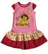 Dora The Explorer - Girl Dress - DR1168